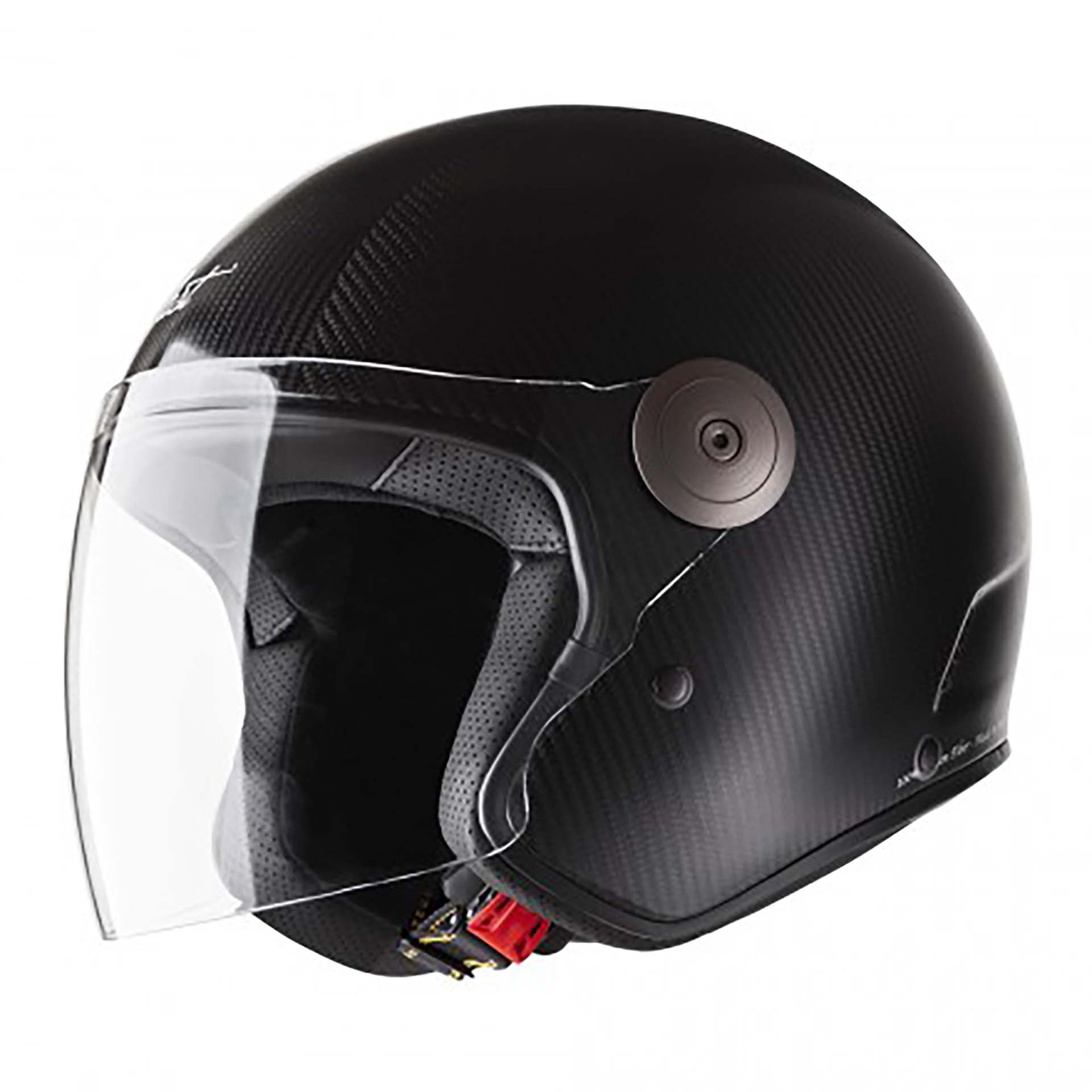 Casco Cast CM1 Carbon color nero