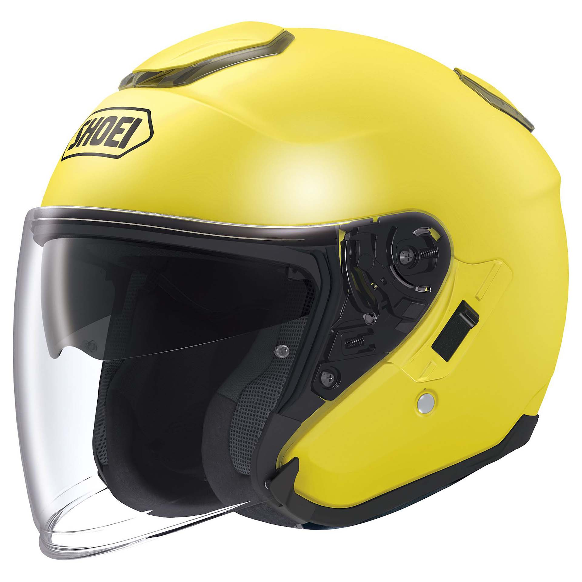 Casco Shoei J-Cruise color giallo