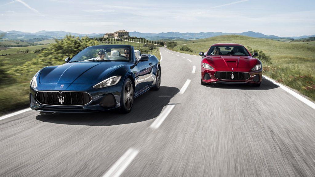 Maserati GranTurismo e GranCabrio MY18: inossidabili