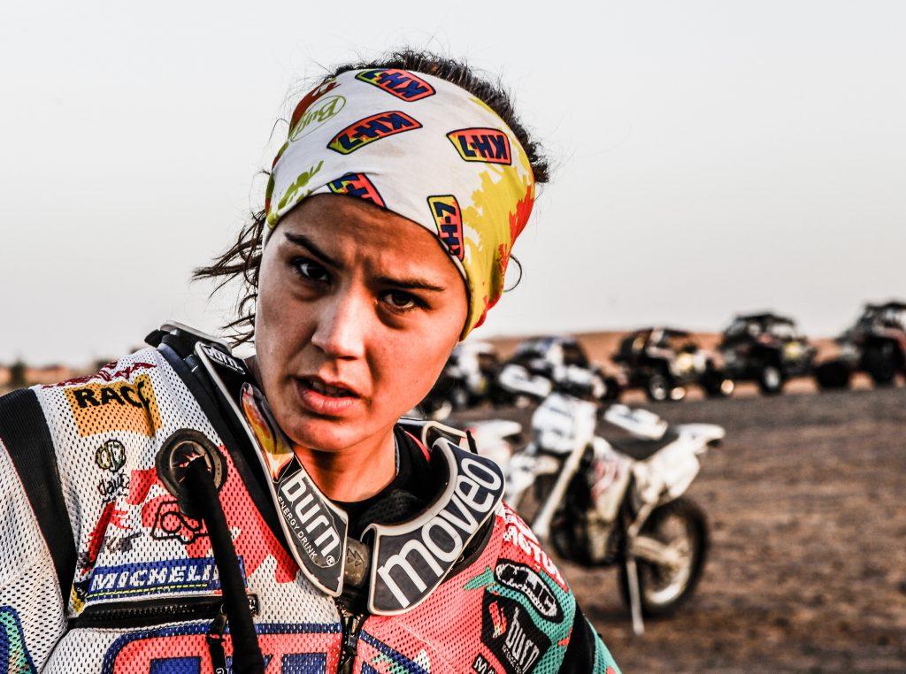 Laia Sanz, la principessa del deserto
