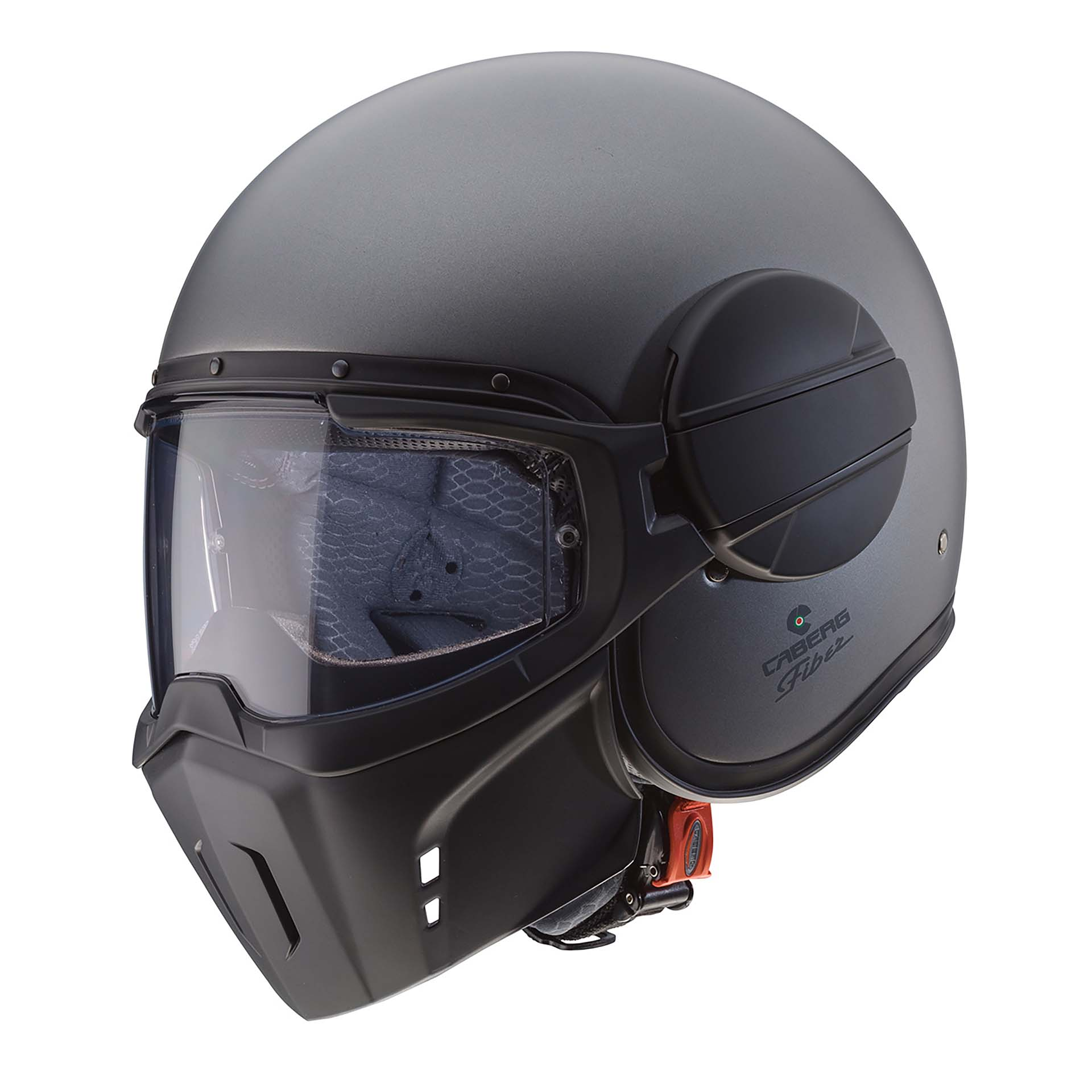 Casco Caber Ghost color nero opaco