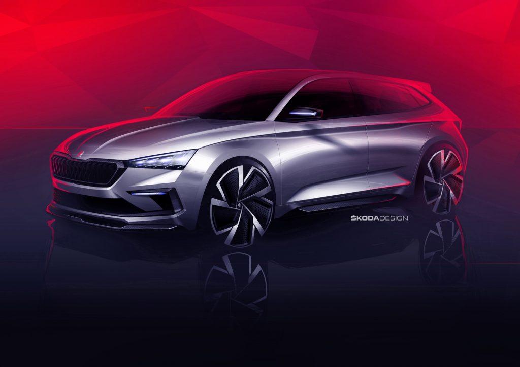 Škoda Vision RS, uno sguardo sul futuro