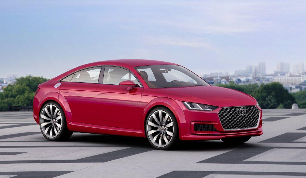 Audi TT Sportback: concept a parole