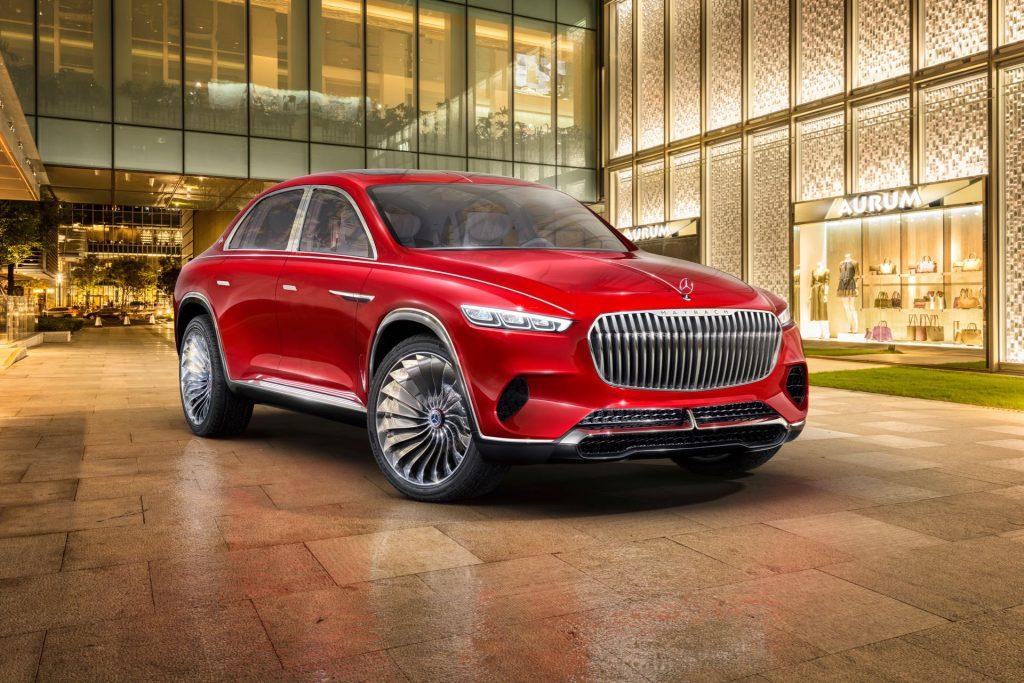 Vision Mercedes-Maybach Ultimate Luxury: fa anche il tè