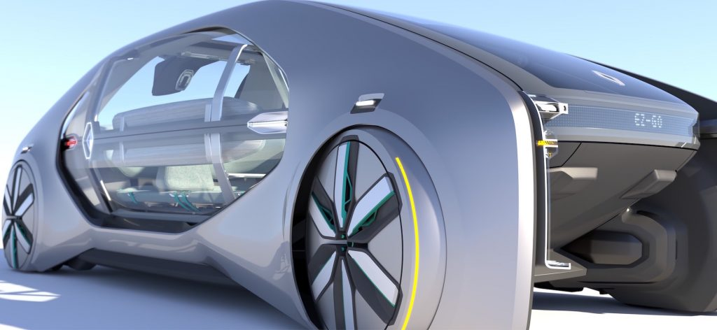 Renault EZ-GO,  ecco l'auto del futuro secondo renault