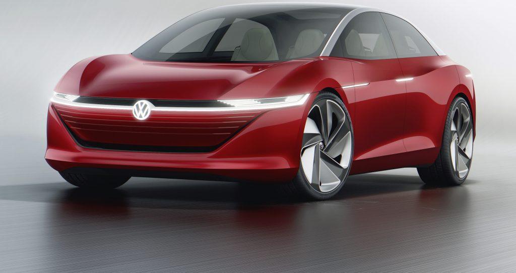 Volkswagen I.D. Vizzion, la berlina di domani