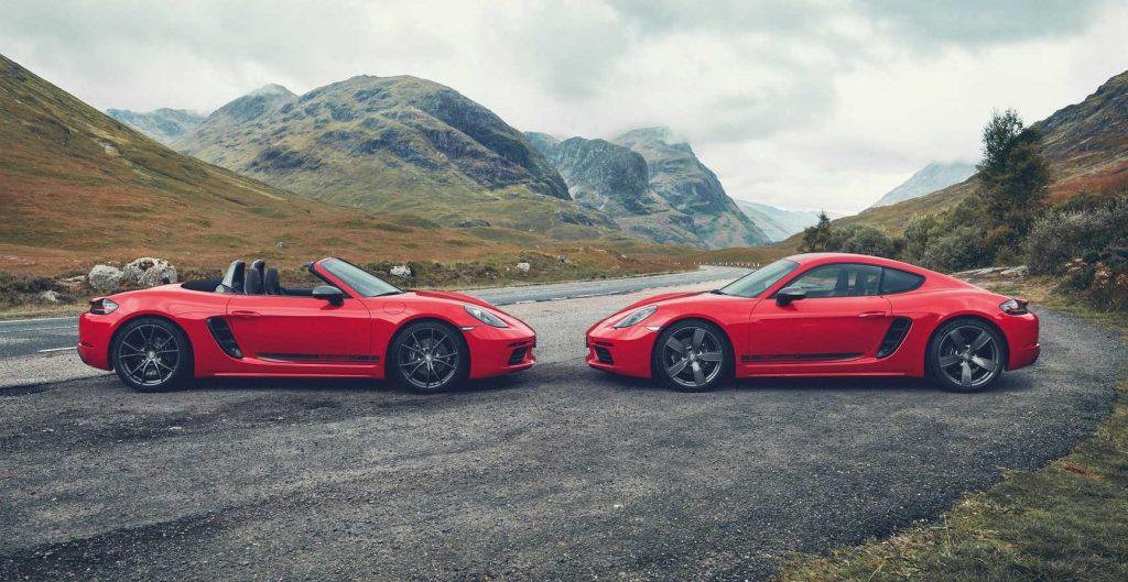 Porsche 718 Boxster e Cayman, l'elettrico può attendere