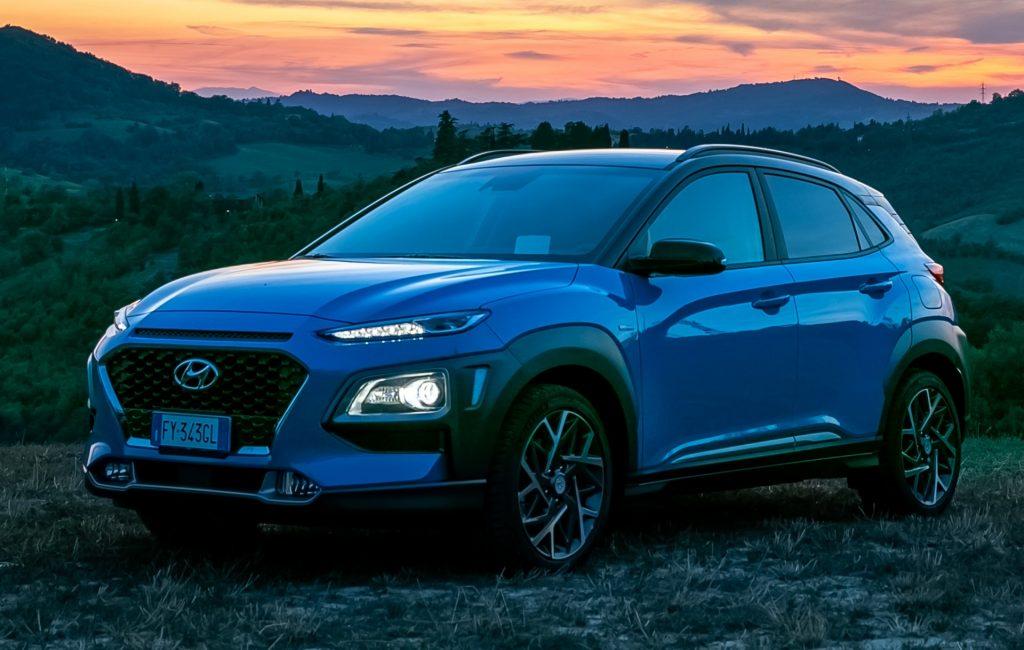 Hyundai Kona, record di autonomia