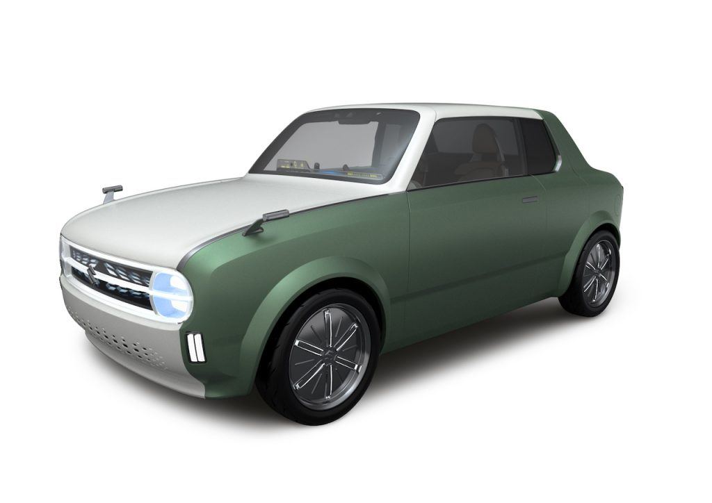"Suzuki Waku Spo, ""la Fiat 128"" iper moderna ed elettrica"