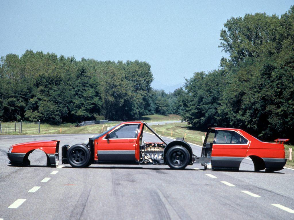 Alfa Romeo 164 ProCar, un sogno rimasto nel cassetto