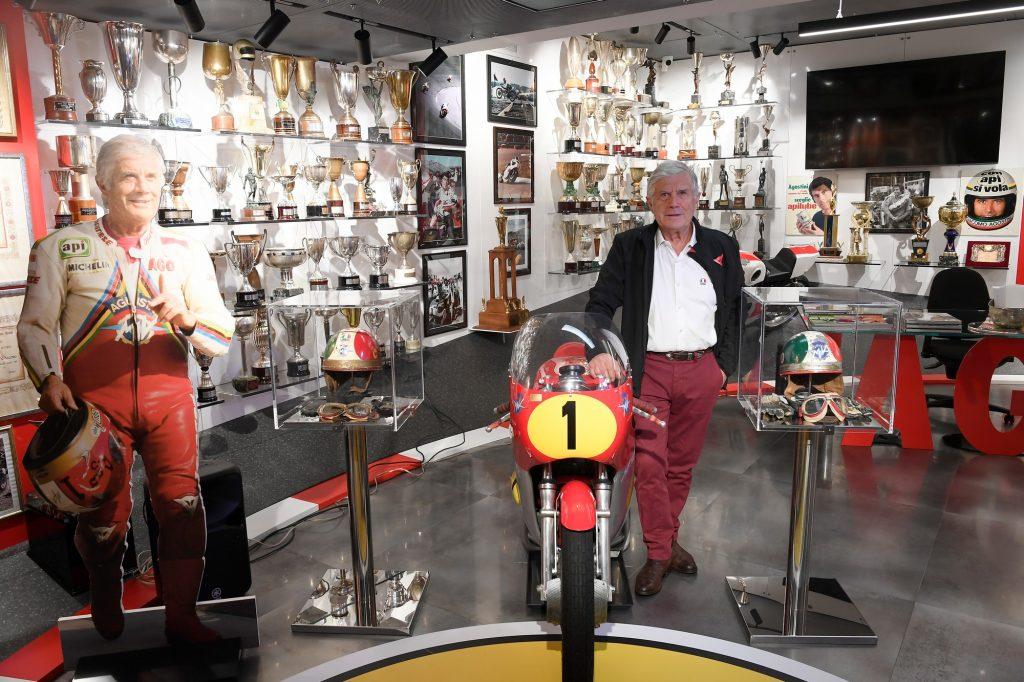 Giacomo Agostini, la leggenda del motociclismo ha il suo museo