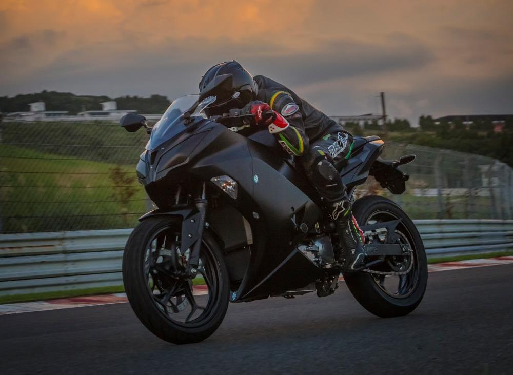 Kawasaki EV Project  Arriva la Ninja a elettroni?