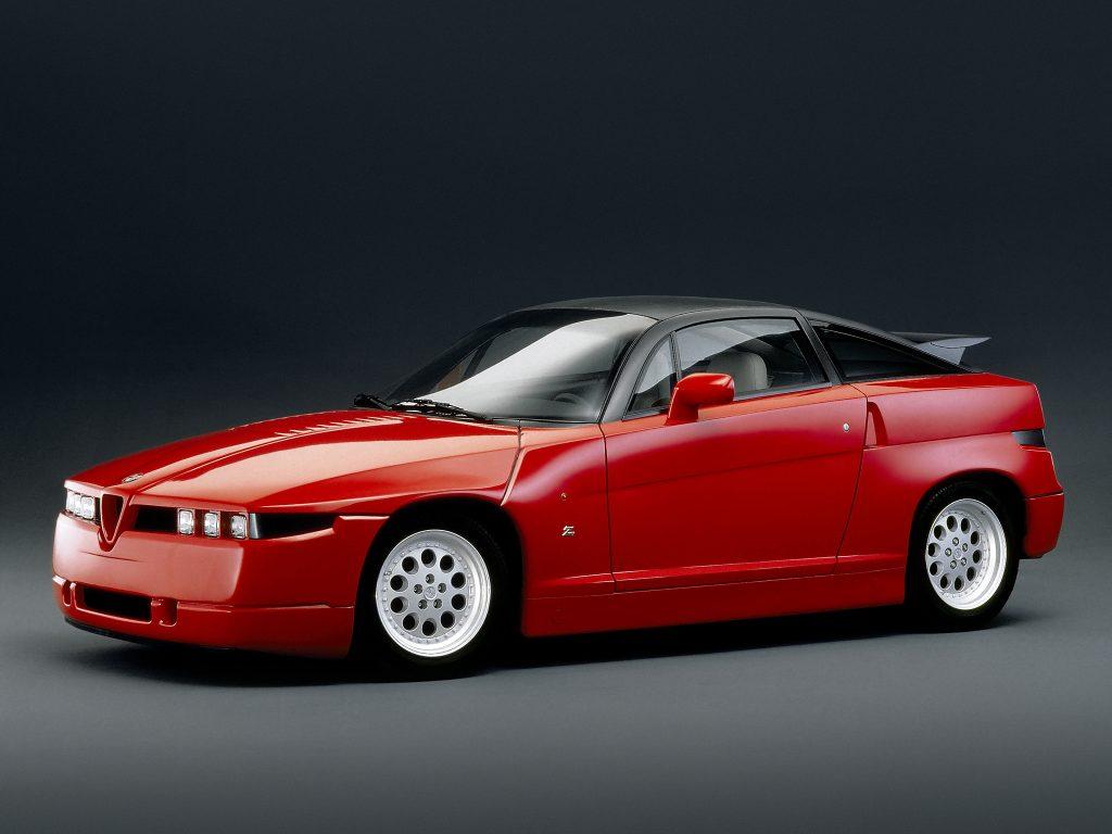 """Alfa Romeo SZ e RZ, design """"difficile"""", meccanica autentica – Youngtimer"""