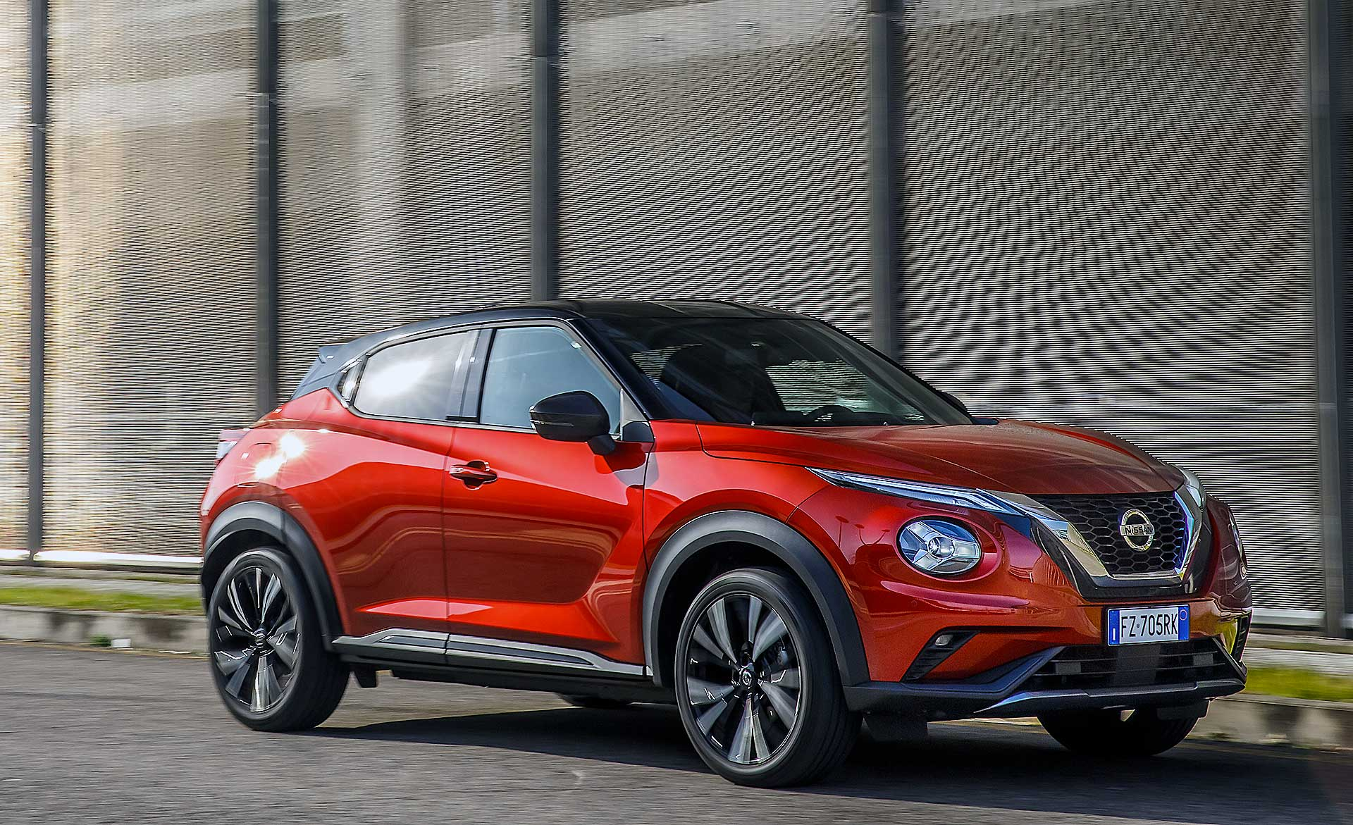 Nissan Juke 2020 arancione
