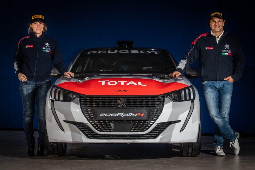 """Peugeot 208 Rally 4, il ritorno di """"UcciUssi"""""""