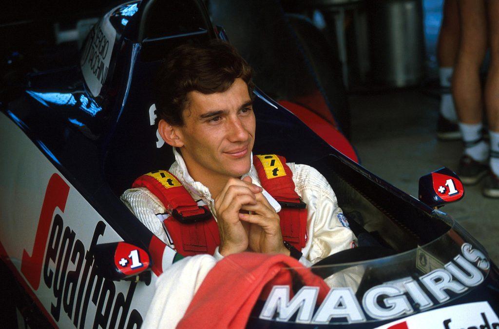"""Ayrton Senna e la leggenda poco nota del """"muro che si sposta"""", Dallas 1984"""