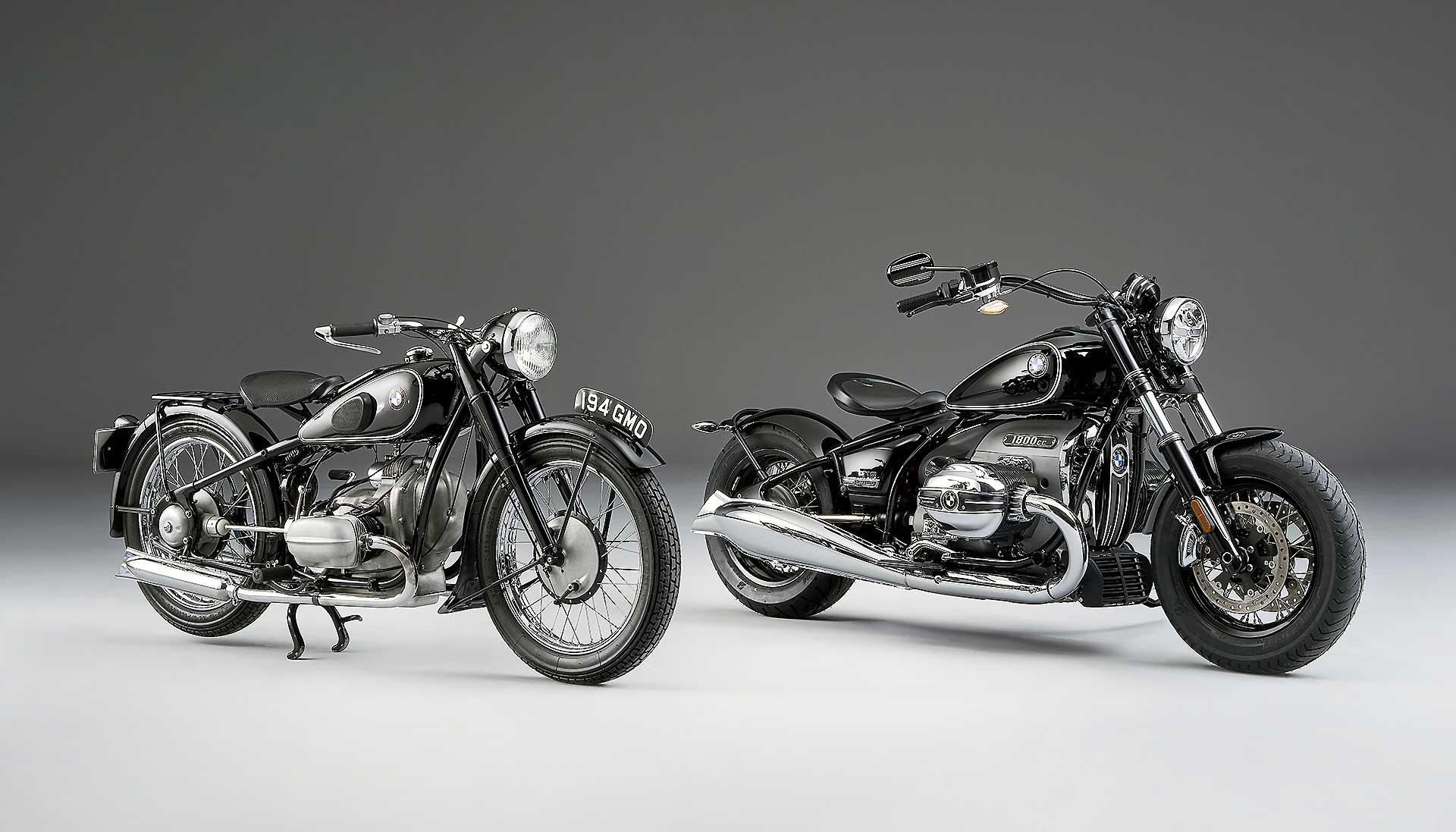 BMW R18 e BMW R5