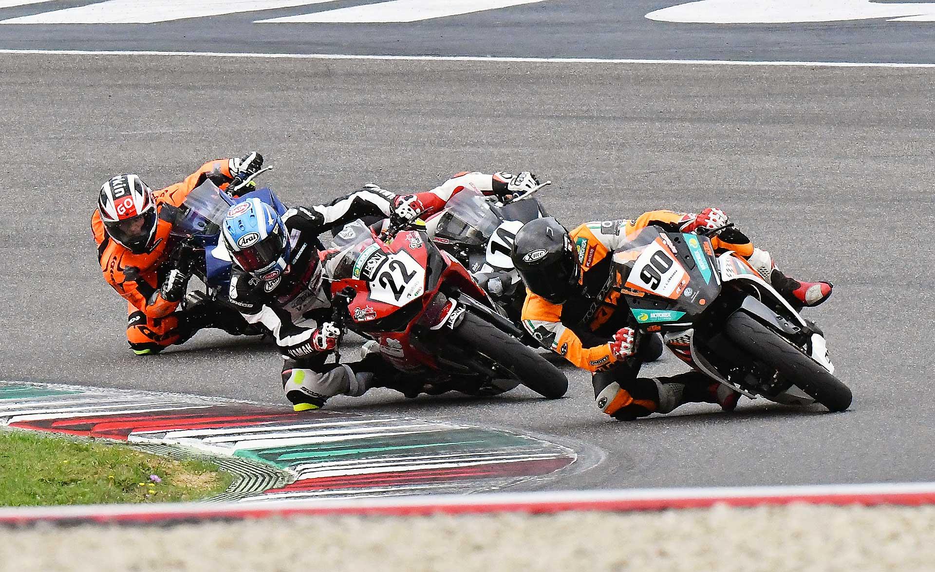 CIV supersport 300 Mugello KTM Yamaha Kawasaki