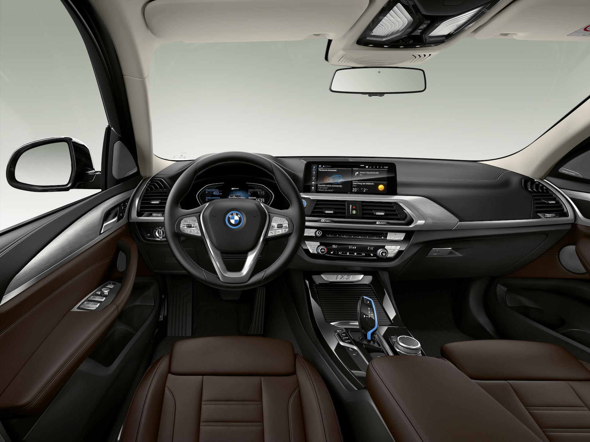 BMW iX3 plancia