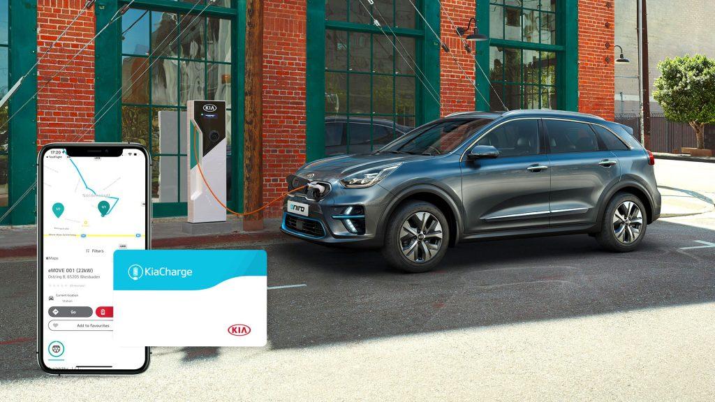 KiaCharge, la rete di ricarica europea per veicoli elettrici e Plug-in di Kia