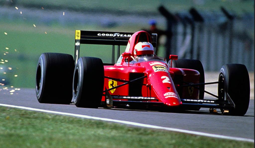 """Mansell e il """"giro a vita persa"""" a Silverstone nel 1990: pole position"""
